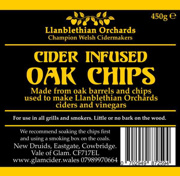 Oak Chips Label