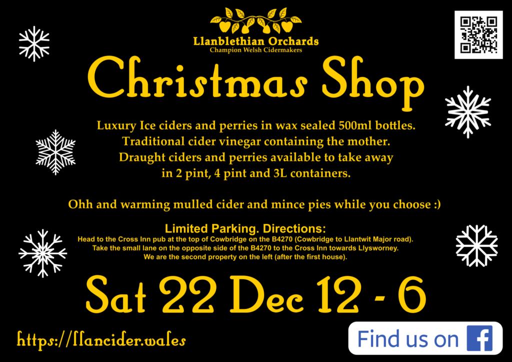 Christmas Shop Poster
