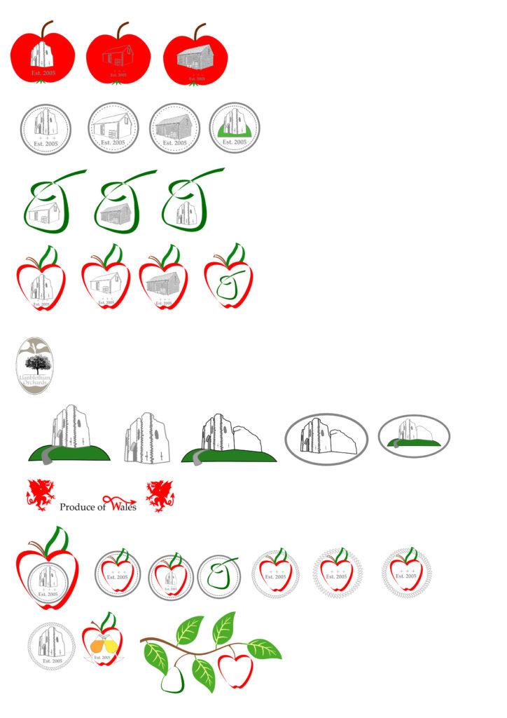 Bottle logo design ideas st quentins castle llanblethian features in a lot of them