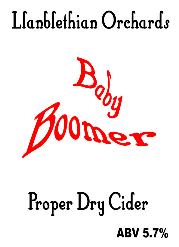 baby boomer label 2010 llanblethian orchards