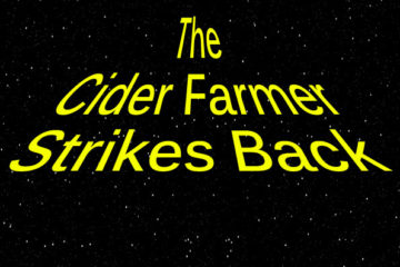 the cider farmer strikes back 2010 label south wales cider