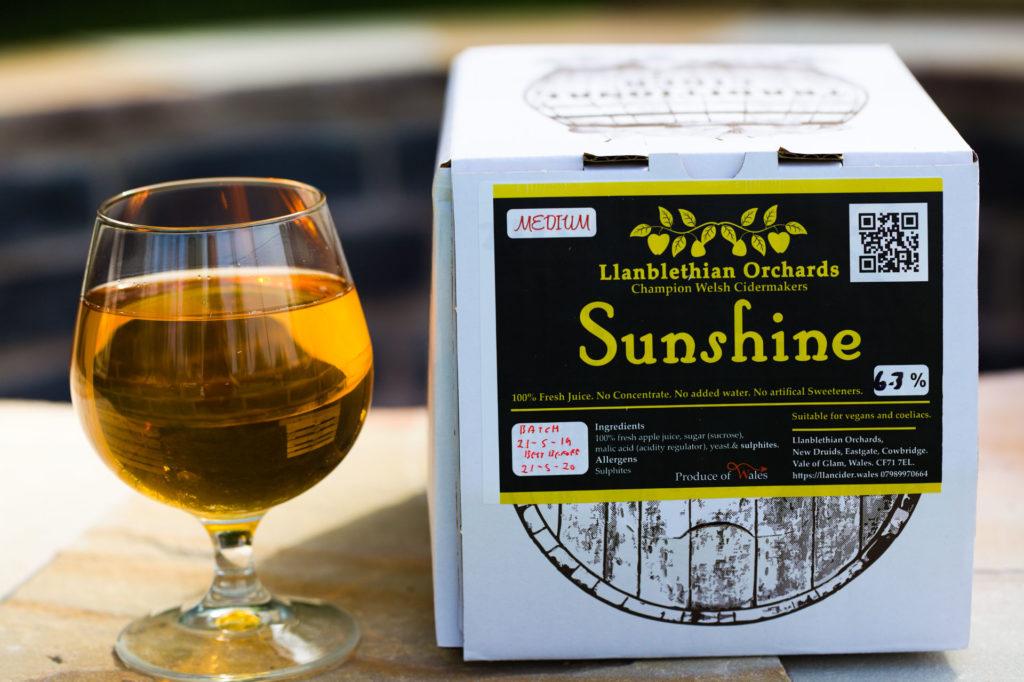 5L Sunshine bag in box