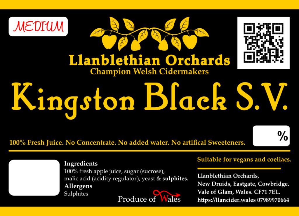 Kingston Black SV cider