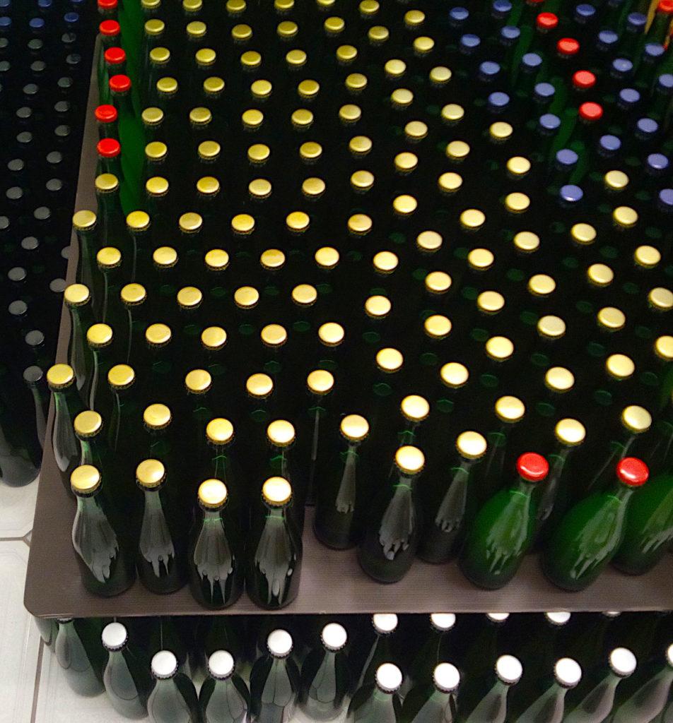 A whole lotta bottles