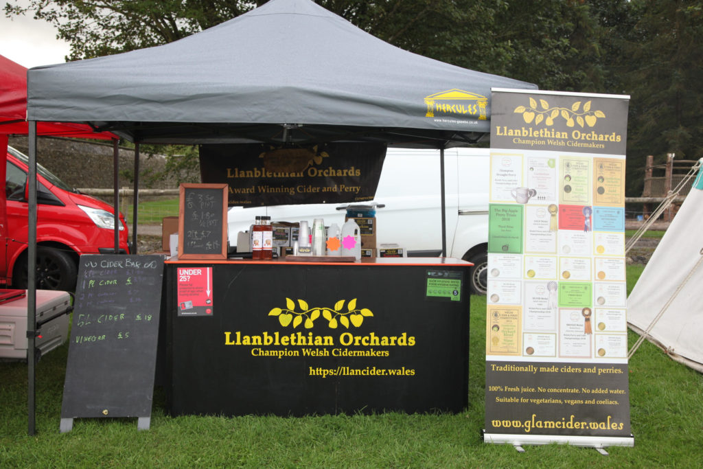 Stock stall photo llanblethian orchards